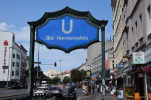 Pop-up-Impfung auf dem Hermannplatz